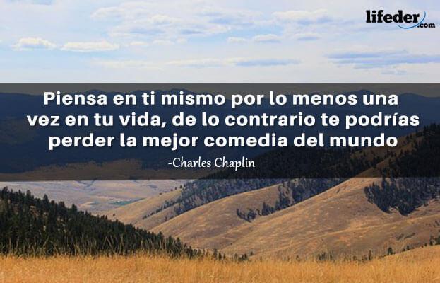 As 101 melhores frases de Charles Chaplin 16
