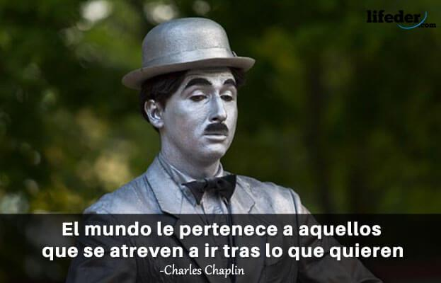 As 101 melhores frases de Charles Chaplin 5