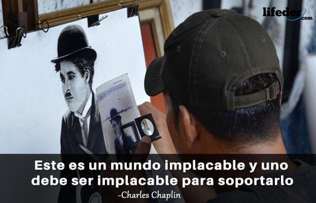 As 101 melhores frases de Charles Chaplin 8
