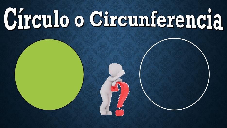 5 Diferenças entre Círculo e Circunferência 1