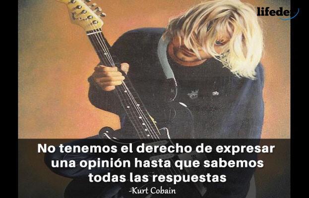 As 100 melhores frases de Kurt Cobain [com imagens] 18