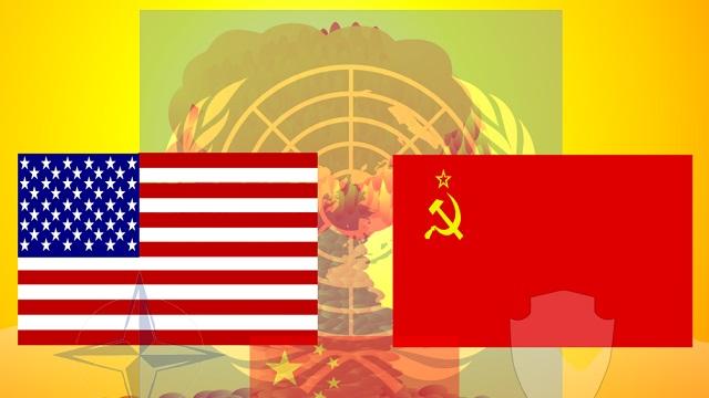 Quais os países envolvidos na guerra fria? 1