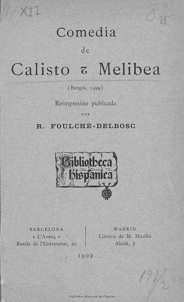 Fernando de Rojas: Biografia, Obras 3