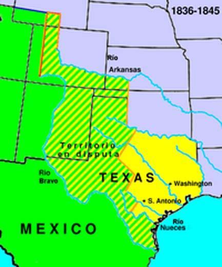 5 Consequências da separação do Texas do México 1