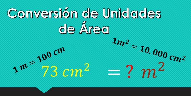 Como converter cm² para m²? 1