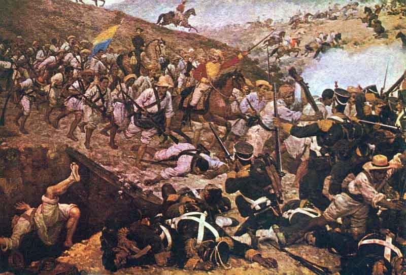 A corrente libertadora do norte e as principais batalhas 1