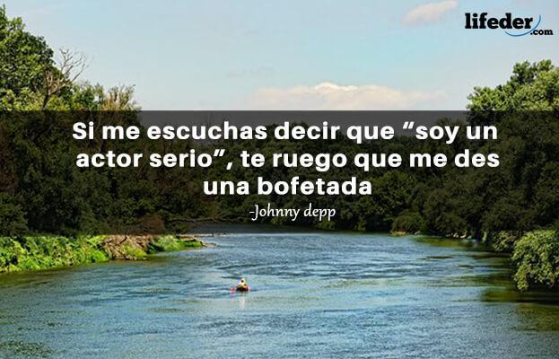 As 100 melhores frases de Johnny Depp 17