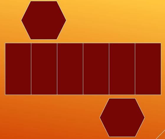 Quantas arestas possui um prisma hexagonal? 3