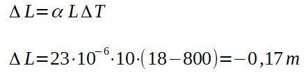 Dilatação linear: o que é, fórmula e coeficientes, exemplo 6
