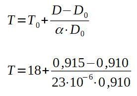 Dilatação linear: o que é, fórmula e coeficientes, exemplo 9
