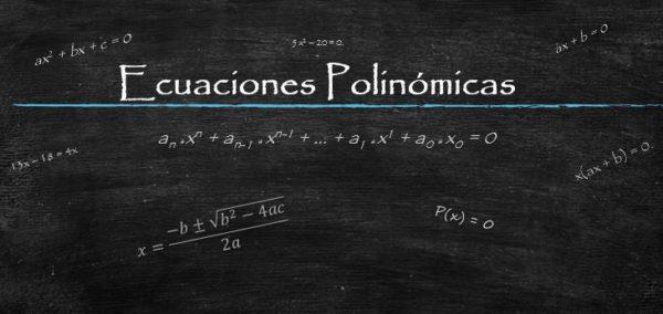 Equações polinomiais (com exercícios resolvidos) 1