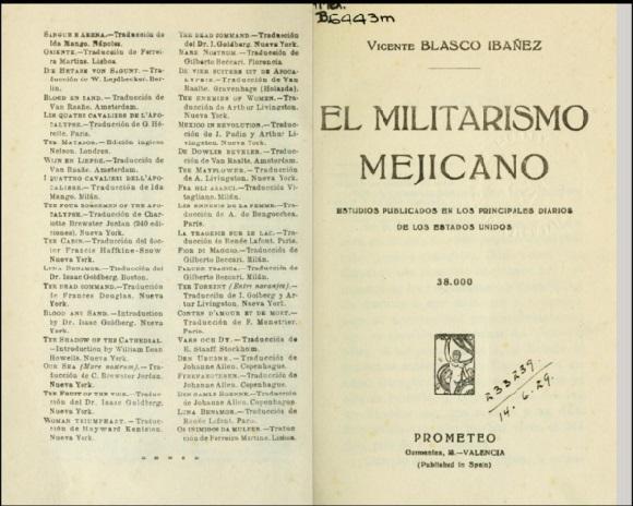 Vicente Blasco Ibáñez: biografia, estilo e obras completas 3