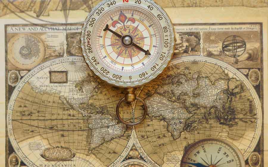 Quais são os elementos de um mapa? 1