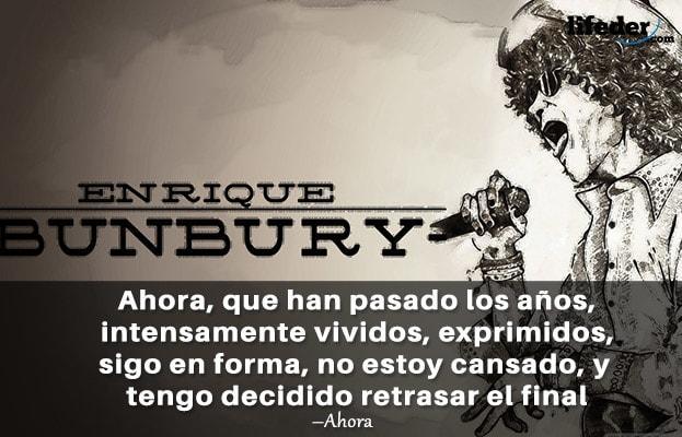 As 50 melhores frases de Enrique Bunbury 8