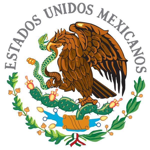 Lenda dos símbolos nacionais do México 1