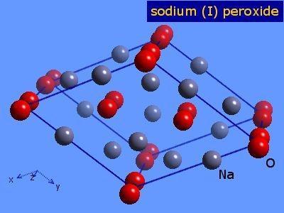Peróxido de sódio (Na2O2): estrutura, propriedades, usos 2