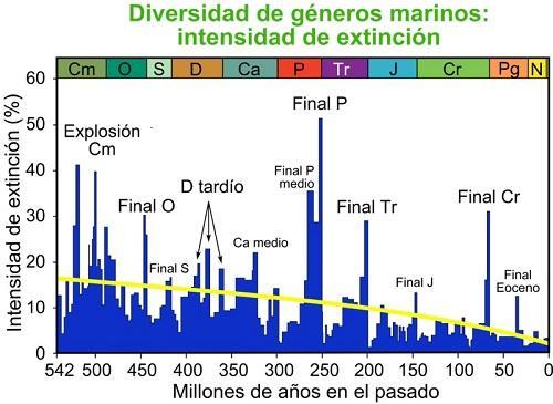 Extinção em massa do Permiano-Triássico: causas e consequências 1
