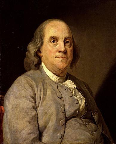 As 100 melhores frases de Benjamin Franklin 1