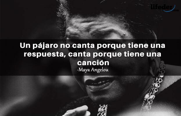 As 100 melhores frases de Maya Angelou 1