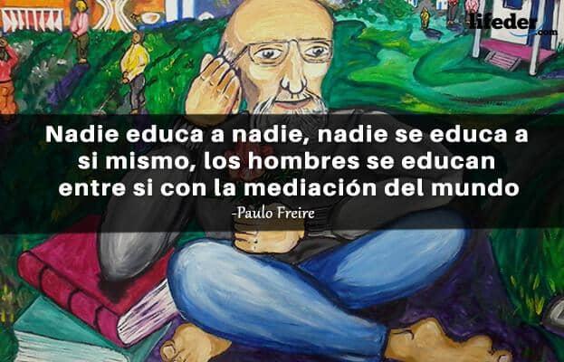 As 100 melhores frases de Paulo Freire 12