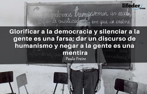 As 100 melhores frases de Paulo Freire 14