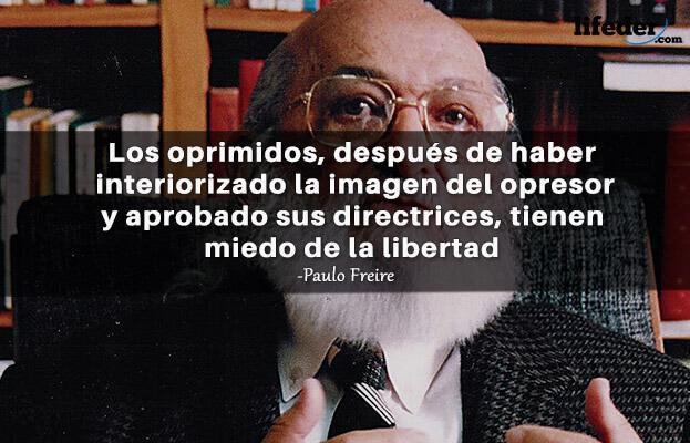 As 100 melhores frases de Paulo Freire 19