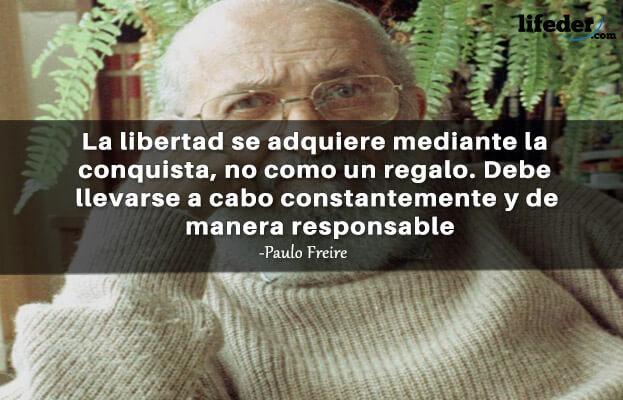 As 100 melhores frases de Paulo Freire 20