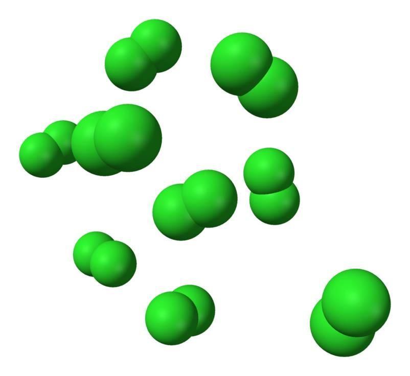 Cloro gasoso: fórmula, efeitos, usos e riscos 1