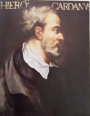 Gerolamo Cardano: biografia, contribuições, invenções 1