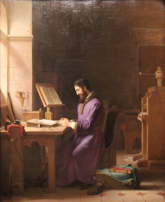 Johannes Gutenberg: biografia, imprensa, honras, dados 2