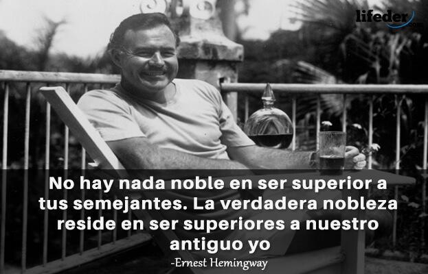 As 80 melhores frases de Ernest Hemingway 10