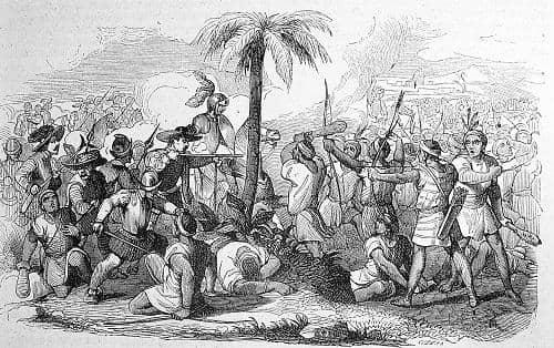 Como foi a chegada dos espanhóis ao Peru? 1