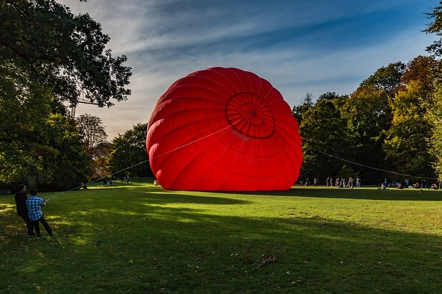 Balão de ar quente: história, características, peças, como funciona 2