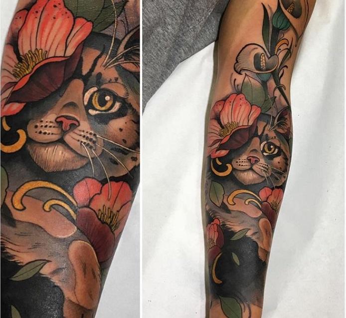 Os 15 tipos de tatuagens (de acordo com seu estilo e características) 7