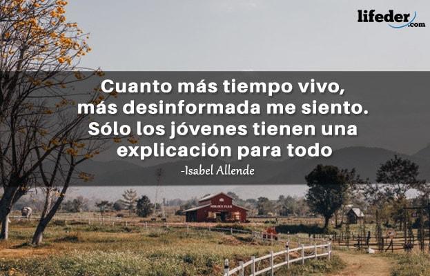 As 100 melhores frases de Isabel Allende 16