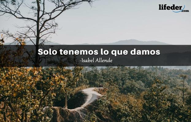 As 100 melhores frases de Isabel Allende 18