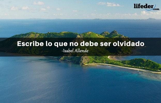 As 100 melhores frases de Isabel Allende 3