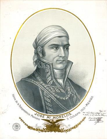 José María Morelos: Biografia 1