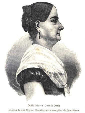 Josefa Ortiz de Domínguez: biografia 1