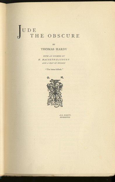Thomas Hardy: biografia e obras 5