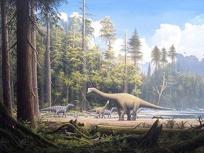 Jurássico: características, subdivisões, flora, fauna 1