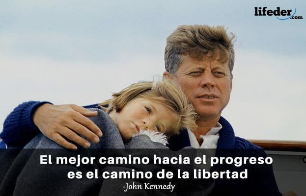 As 100 melhores frases de John Fitzgerald Kennedy 12