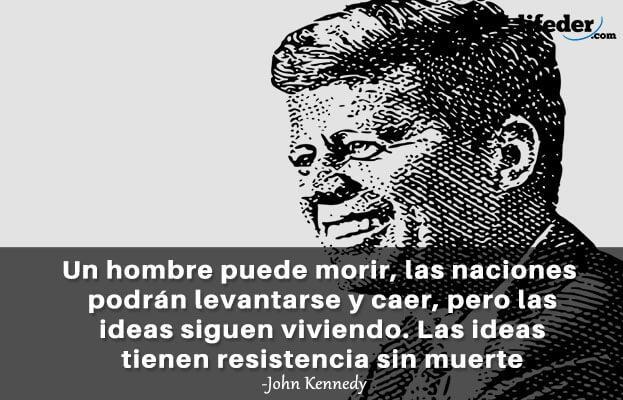 As 100 melhores frases de John Fitzgerald Kennedy 4