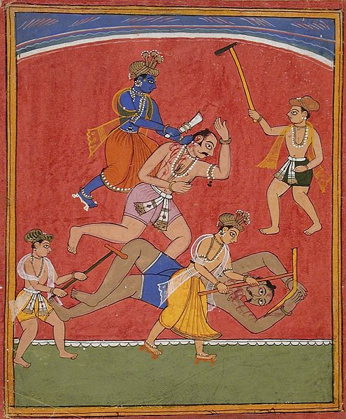Krishna: biografia, infância, idade adulta, morte, influências 5