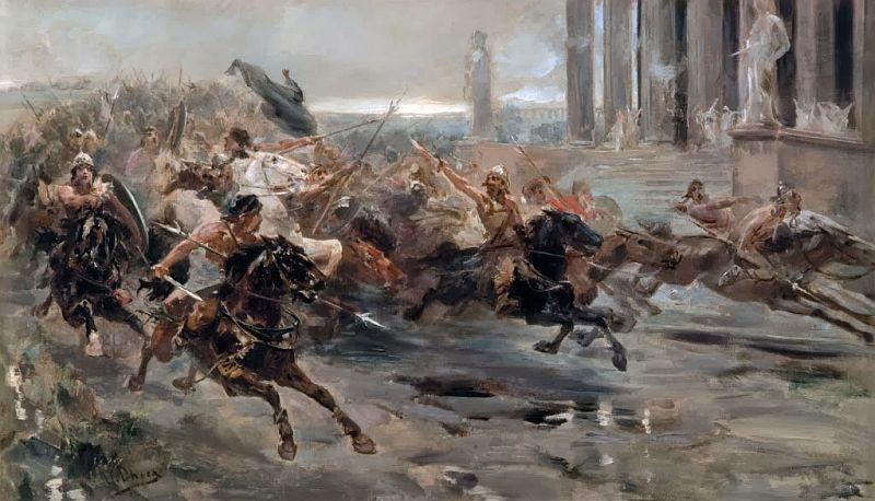 Invasões bárbaras: causas, desenvolvimento e consequências 2