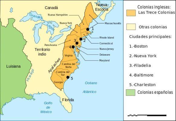 Treze colônias: antecedentes, origem e suas características 1