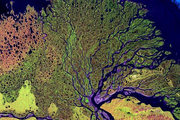 Rio Lena: características, boca, poluição 1