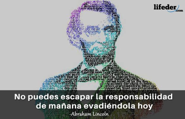 As 100 melhores frases de Abraham Lincoln 12