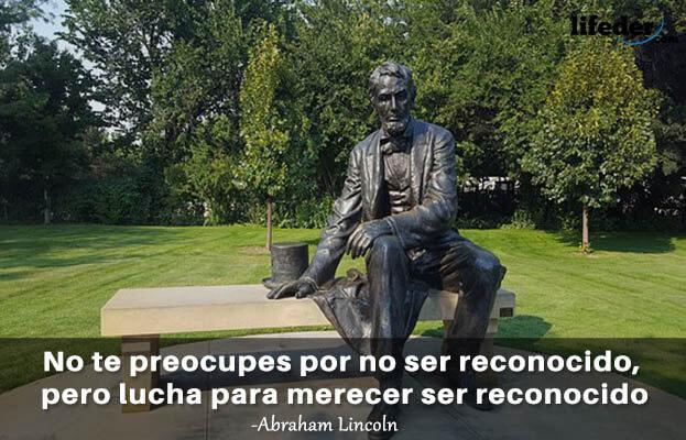 As 100 melhores frases de Abraham Lincoln 18