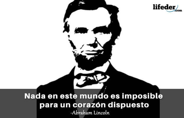 As 100 melhores frases de Abraham Lincoln 3